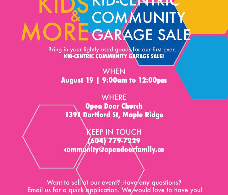 KIDS & MORE | Community Garage Sale