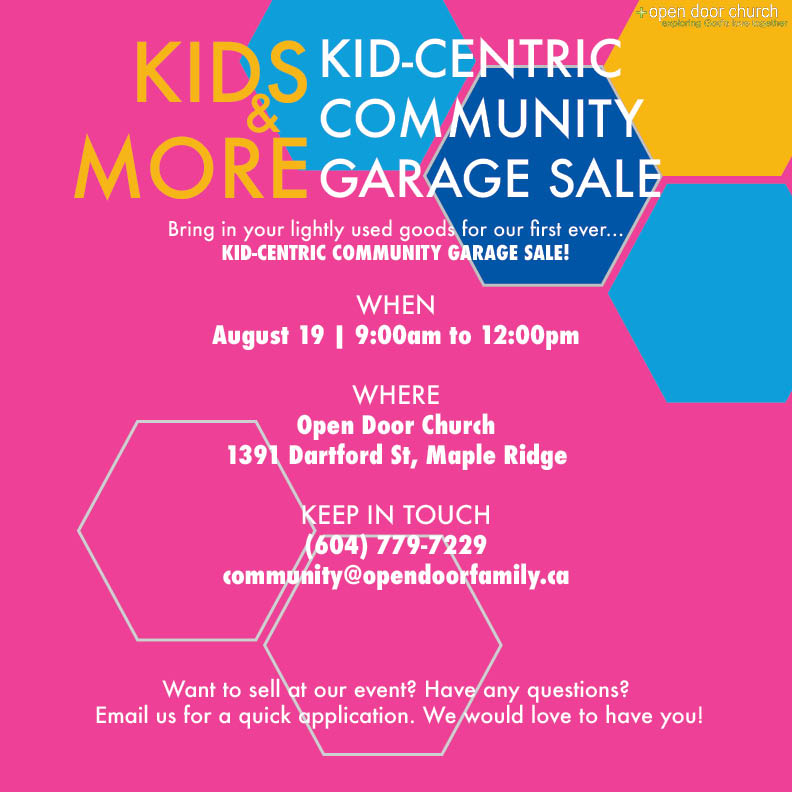 KIDS & MORE | Community Garage Sale