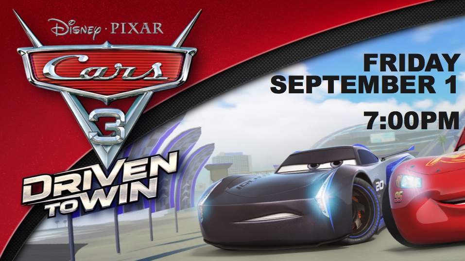 CARS 3 | Free Community Movie Night