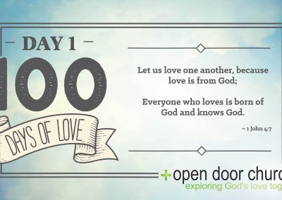 100 Days Of Love - 001web